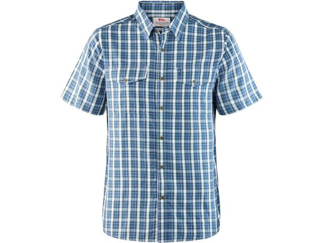 Fjällräven Abisko Cool t-shirt Heren, blauw